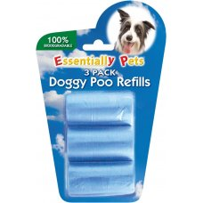 Poo Bag Refills Biodegradable 3x20Pk