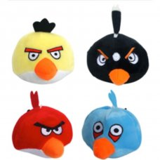Toy Squeaky Bird Plush Pk