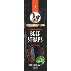 Treat Premium Gourmet Beef Strap 6Pk