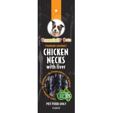 Treat Premium Gourmet Chicken & Liver Necks 8Pk
