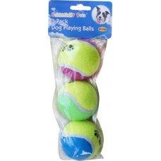Toy Tennis Balls 3Pk