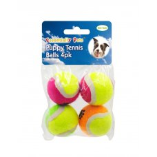 Toy Puppy Mini Balls 4Pk