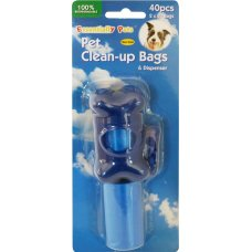 Pet Clean Up Bags 2x20Pk