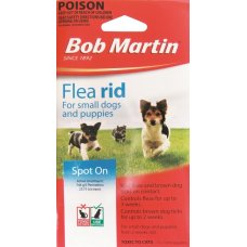 Bob Martin Flea & Tick Spot On for Small Dogs Pk