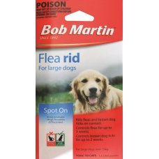 Bob Martin Flea & Tick Spot On for Large Dogs Pk
