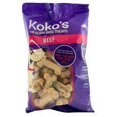 Koko Dog Treats Beef 300g Box 9