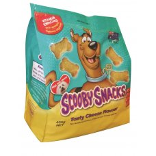 Scooby Snacks Dog Treat Cheese 400g x 5 Ctn