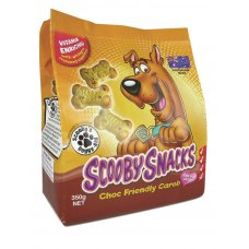 Scooby Snacks Dog Treat Carob 400g x 5 Ctn