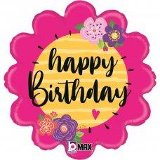 Happy Birthday Flowers 18