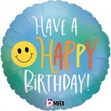 Happy Birthday Smiley 18