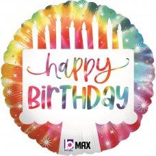 Tie-Dye Cake Birthday 18