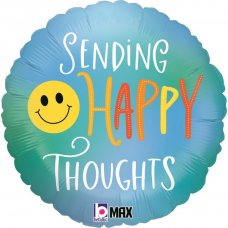 Happy Thoughts Smiley 18'' Round P1