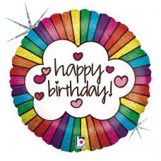 Retro Rainbow Birthday 18