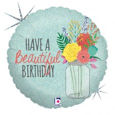 Beautiful Birthday Holographic 18