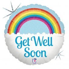Get Well Soon Rainbow Holographic 18
