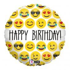 Emoji Birthday 18