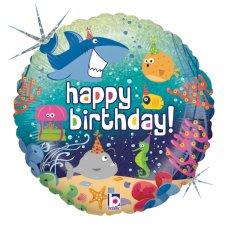 Birthday Ocean Holographic 18