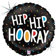 Hip Hip Hooray Holographic 18