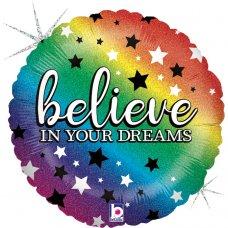 Rainbow Believe Holographic 18