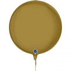 Globe 4D Satin Gold 11