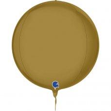 Globe 4D Satin Gold 15