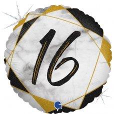 #16 Marble Black 18
