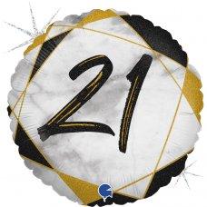 #21 Marble Black 18