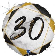 #30 Marble Black 18