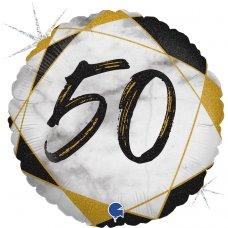 #50 Marble Black 18