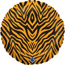 Tiger Striped 18'' Round P1
