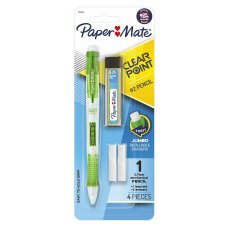 Papermate Mechanical Clear Pencil Set 0.7mm Pack 1