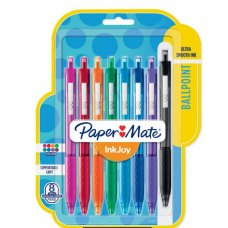 Papermate Profile 1.4 Bold Assorted Pack 4