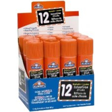 Elmers Disappearing Purple Glue Stick 40g Tray 12