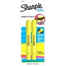 Sharpie Gel Highlighter Yellow Pack 2