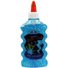 Elmer's Glitter Glue 177ml Blue Bottle
