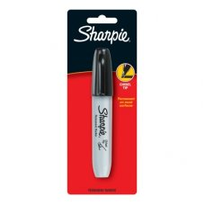 Sharpie Marker Chisel Tip Black Pack 1