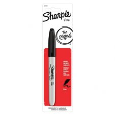 Sharpie Marker Fine Black Pack 1