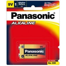 Alkaline Battery 9V 1pk