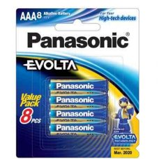 Evolta Premium Alkaline Battery AAA 8pk