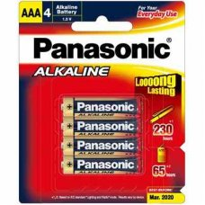 Alkaline Battery AAA 4pk