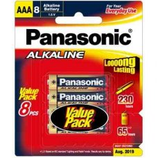 Alkaline Battery AAA 8pk