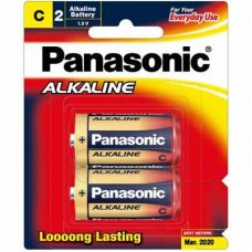 Alkaline Battery C 2pk