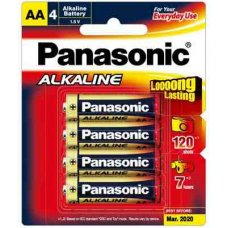 Alkaline Battery AA 4pk