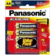 Alkaline Battery AA 8pk