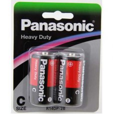 Heavy Duty Battery C 2pk